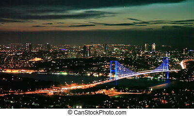 Bosphorus Bridge Scene 11 - Bosphorus Bridge at the night...