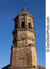 Bell tower of Labastida, Alava, Spain