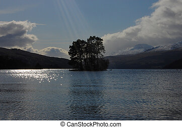 Loch Tay highland perthshire - Loch Tay on a sunny day