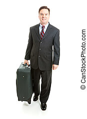 Stock Photo of Business Travel - Full body