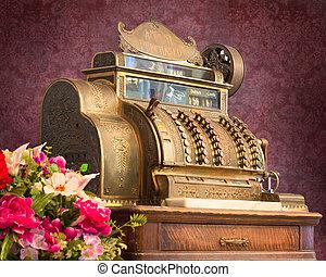Antique cash register  - Antique style cash register