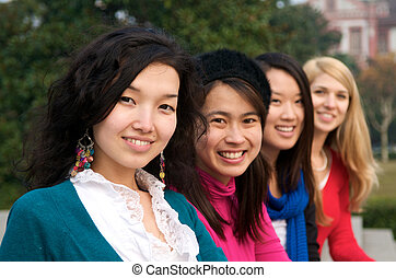Multicultural female students