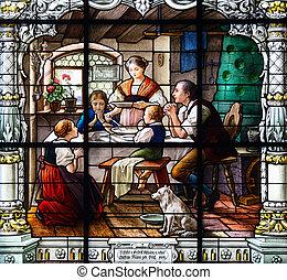 Prayer at dinner
