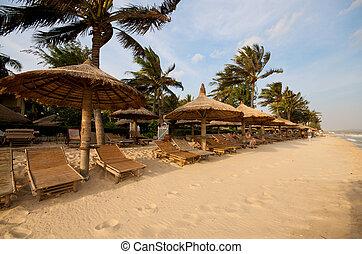 Beach resort - Beautiful vacation beach resort asia