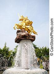 Golden Statue Vietnam