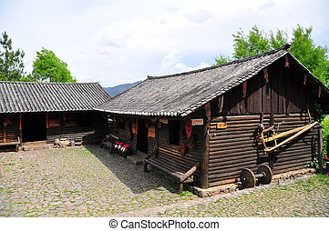 Chinese Local Home - Chinese local traditional home in the...