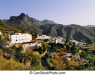 Tejeda, Gran Canaria, Canary Islands, Spain - spanish...