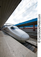High Speed Trains China - Bullet Train in Shanghai China