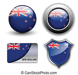 New Zealand icons - New Zealand flag icons theme.