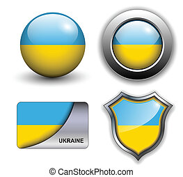 Ukraine icons - Ukraine flag icons theme