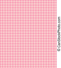 Pink Checker Plaid Paper - Checker Plaid Paper