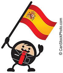 cartoon flag