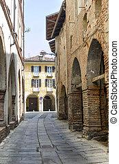Piazzo di Biella - Piazzo Biella, Piedmont, Italy - A street...