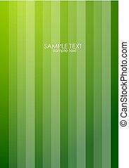 Color striped banner design