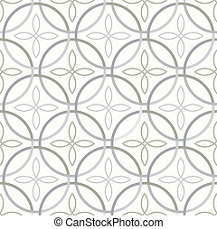 Seamless light pattern - Vector illustration of seamless...