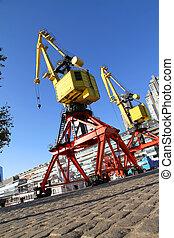 Crane in Puerto Madero - A crane in Puerto Madero, Buenos...