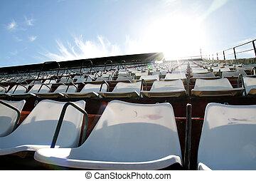 Empty tribune - A empty tribune in Buenos aires HDRI photo...