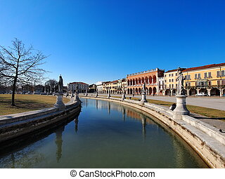 Padua, Italy - famous italian landmark, photo was taken in...