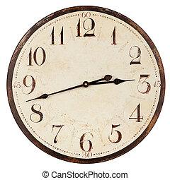antigas, antigüidade, relógio