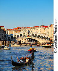 Venice, Italy - famous italian landmark, photo was taken in...