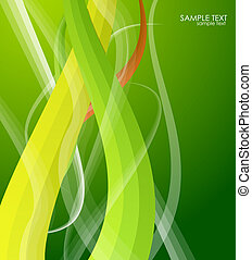 Swirl background - Abstract vector swirl motion background