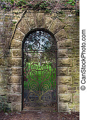15th century Georgian wrought iron gate