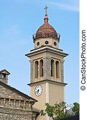 Church of St. Bernardino. Bettola. Emilia-Romagna. Italy.