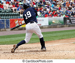 baeball batter swinging