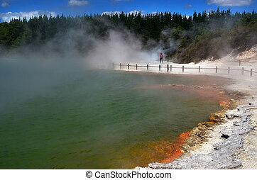 New Zealand - Travel Photos - Champagne Pool in Wai-O-Tapu...