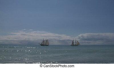 schooner harbor 02 - A schooner