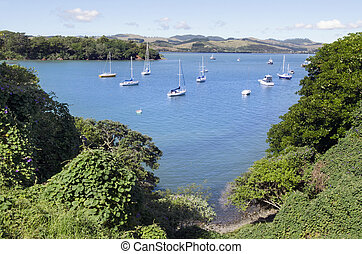 New Zealand Travel Photos - Bay of Islands - View of the bay...