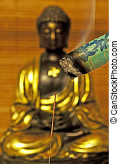 acupuncture needle and moxibustion