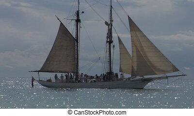 schooner harbor 03 - A schooner