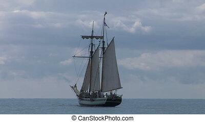 schooner part 1 - A sailing vessel (part 1)