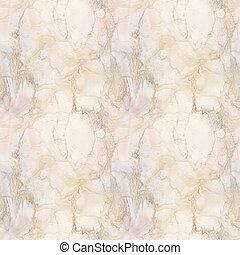 Marble Seamless Pattern - Pink and Peach Marble Seamless...