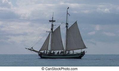 schooner part 2 - A A sailing vessel (part 2)