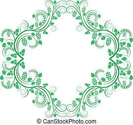 decorative frame - decorative floral frame