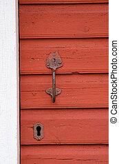 Old doorhandle