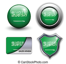 Saudi Arabia icons - Saudi Arabia flag icons theme