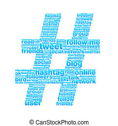 Hashtag - Alot of keywords from Twitter world make a big...