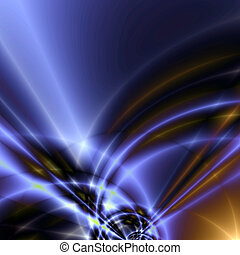 abstract image of the coloured waves and broad patterns