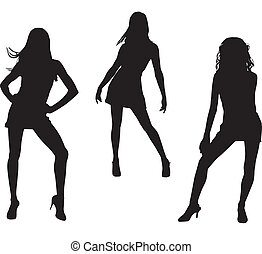 Dancing women Clipart Vector and Illustration. 25,111 Dancing ...