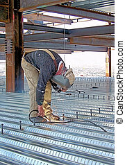 Ironworker Deck Welder - This is the job I did for over 15...
