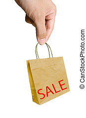 hand pick shopping bags with sale w