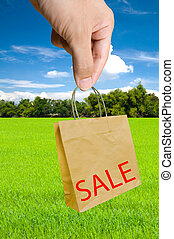 hand pick shopping bags with sale