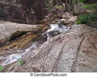 Huai Yang waterfall - Stream of Huai Yang waterfall, Huai...
