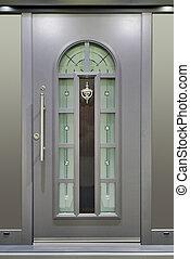 Metallic Massive Door