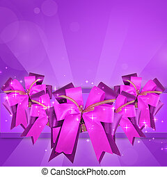 bow with clipping path