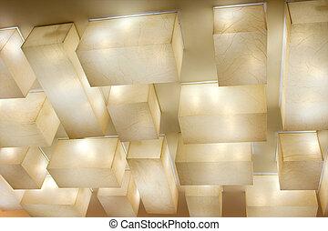 lâmpadas, Teto