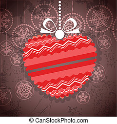 greeting card with ornamented heart